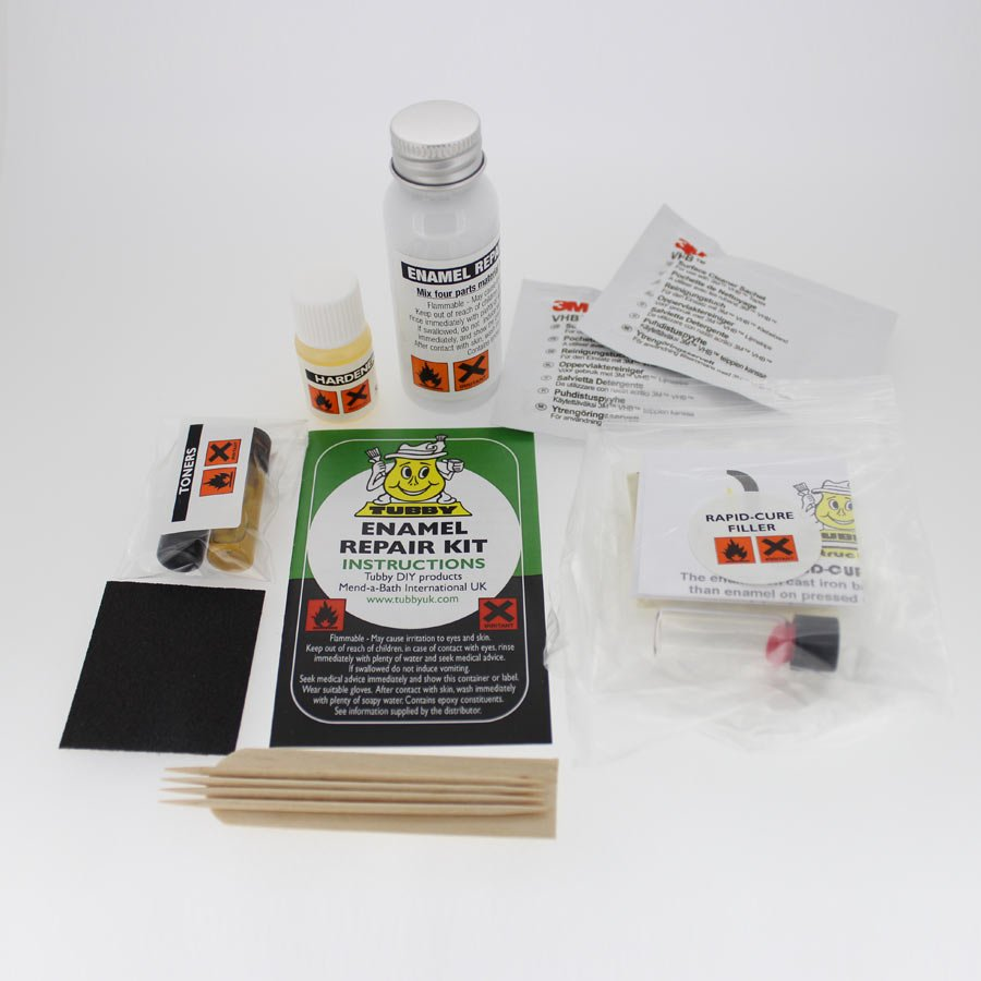 Bath Chip Repair Kit from Tubby UK