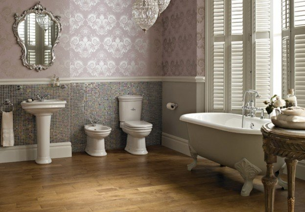 The Rising Trend For Traditional Bathroom Design.